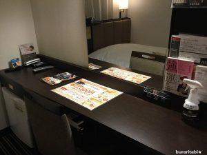 広々とした机