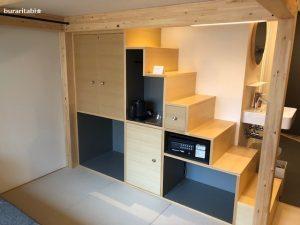 階段の収納スペース