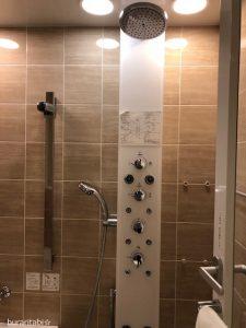 機能的なシャワー