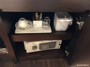 お茶セットやセーフティボックス