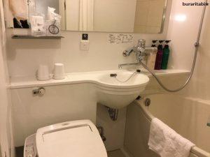 綺麗な浴室の様子