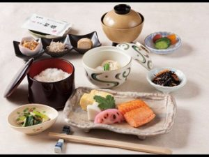 和朝食の品