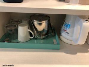 ケトルやカップやグラス
