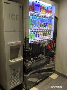 自販機と製氷機が設置