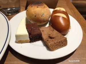 パンとデザート
