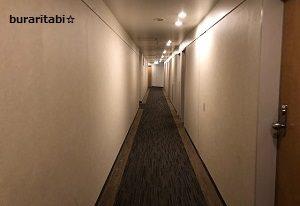 客室廊下の様子