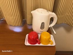 マグカップとケトル