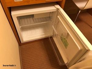 開けた冷蔵庫