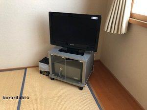 金庫とテレビ