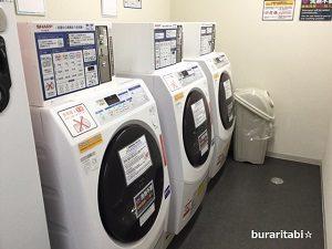 並ぶ洗濯機
