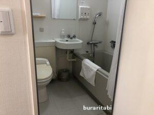 バスルームの入口