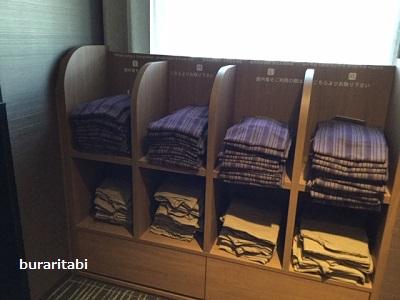 並んだ浴衣